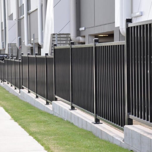 Barrier fence and gate systems