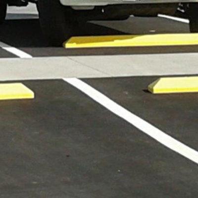 Carpark wheel stops