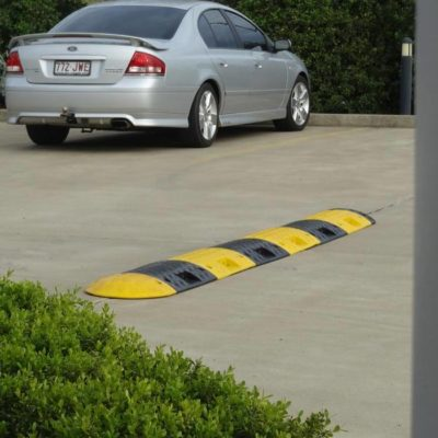 Speed hump and carpark accessories