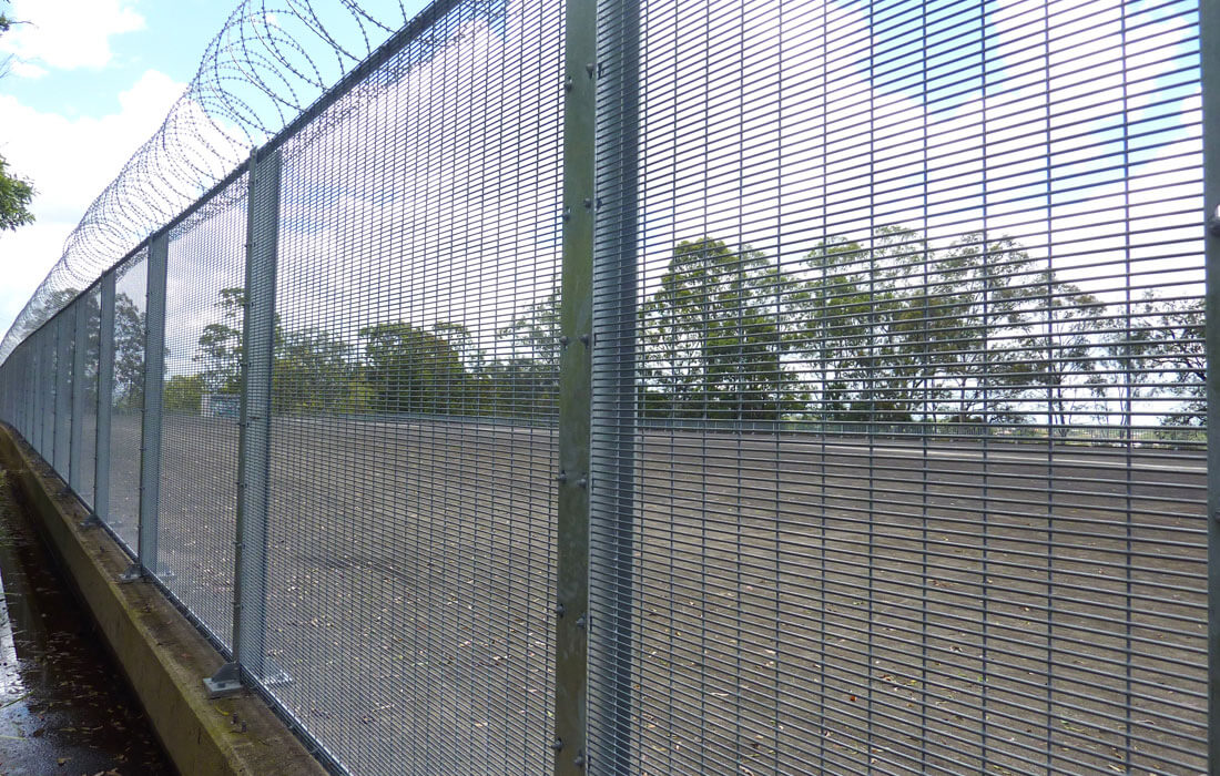 Razor wire security fencing jagfence