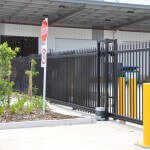 Sliding commercial industrial gate manufacturer