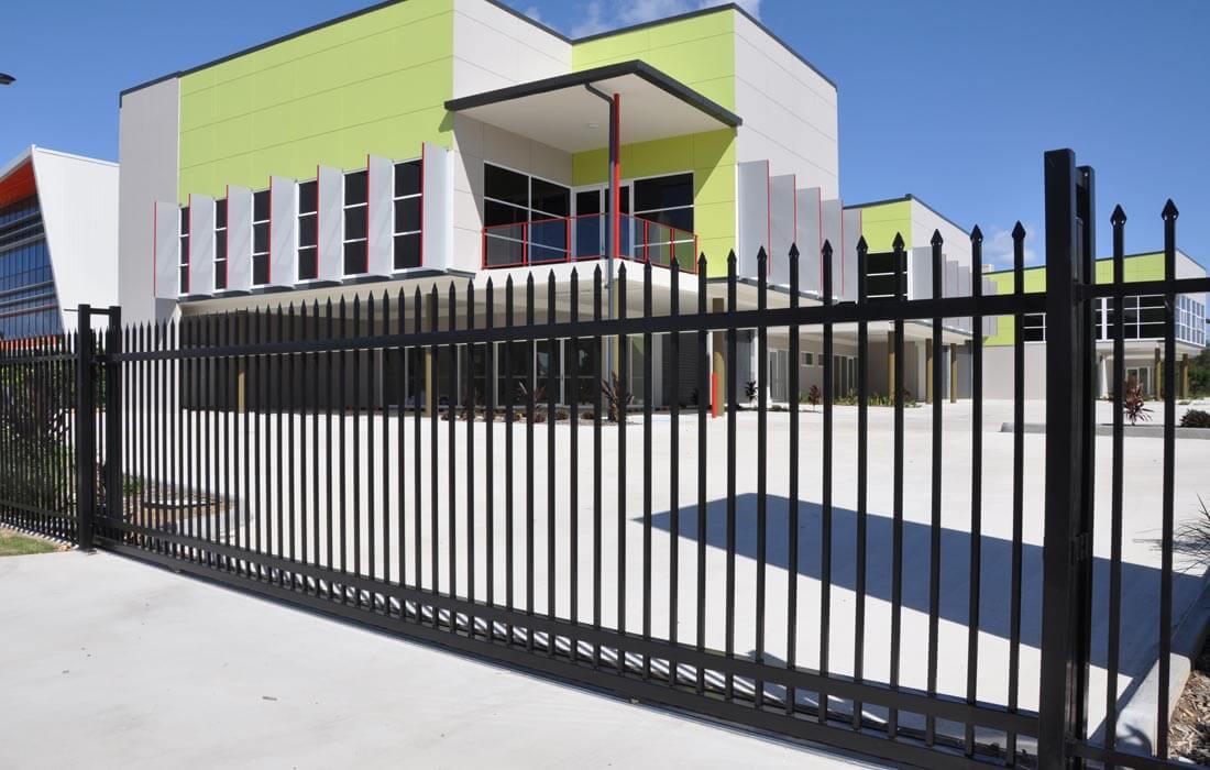 Industrial Slide Gate : Sliding gate jagfence