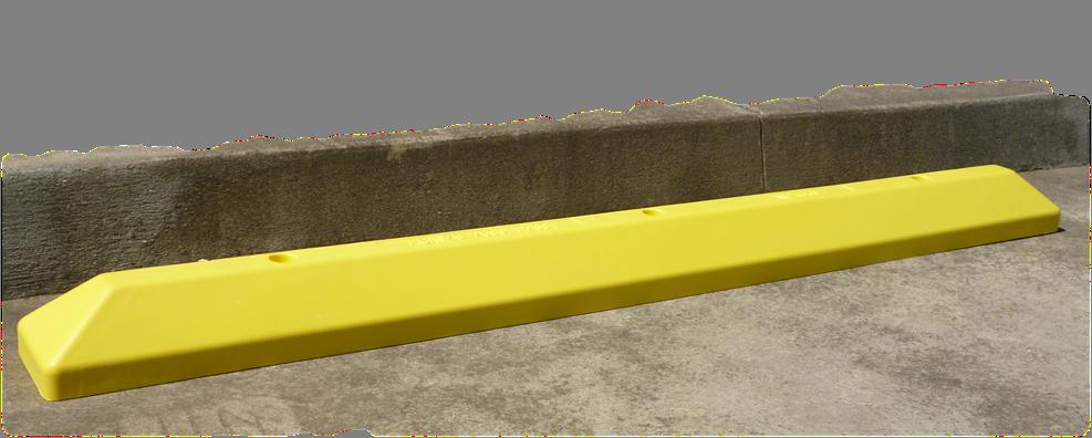 yellow wheelstop